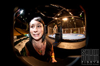 Fisheye prefight shots